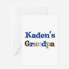 Kaden's Grandpa Greeting Card