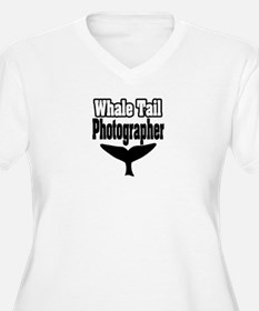 """""""Whale Tail Photographer"""" T-Shirt"""