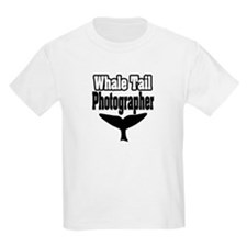 """Whale Tail Photographer"" T-Shirt"