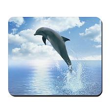 Daybreak Dolphin Mousepad