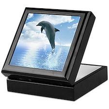 Daybreak Dolphin Keepsake Box