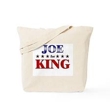JOE for king Tote Bag