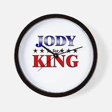 JODY for king Wall Clock