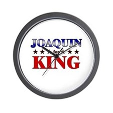 JOAQUIN for king Wall Clock