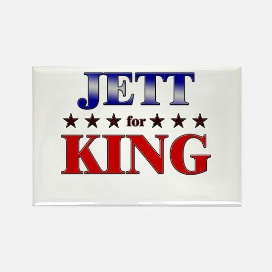 JETT for king Rectangle Magnet