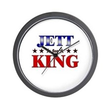 JETT for king Wall Clock