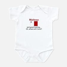 Good Looking Maltese Infant Bodysuit