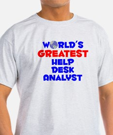 World's Greatest Help .. (A) T-Shirt