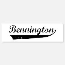 Bennington (vintage) Bumper Bumper Bumper Sticker