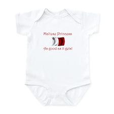 Maltese Princess Infant Bodysuit