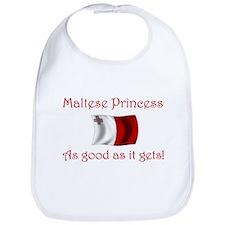 Maltese Princess Bib