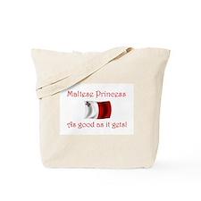 Maltese Princess Tote Bag