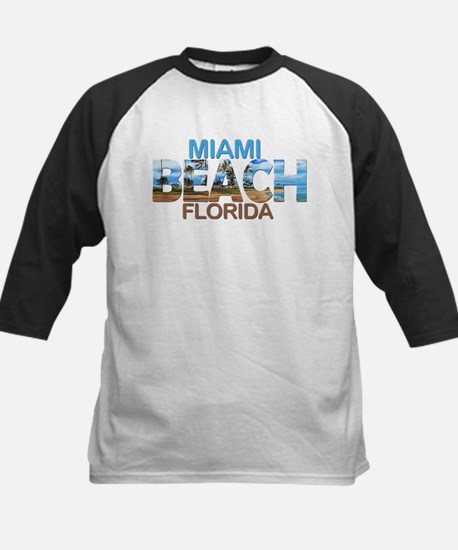 Summer miami beach- florida Baseball Jersey
