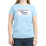 MY GRANDMA'S A HERO Women's Light T-Shirt