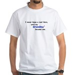 MY GRANDMA'S A HERO White T-Shirt