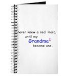 MY GRANDMA'S A HERO Journal