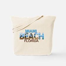 Summer miami beach- florida Tote Bag