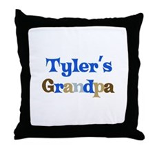 Tyler's Grandpa  Throw Pillow