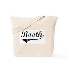 Booth (vintage) Tote Bag