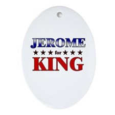 JEROME for king Oval Ornament