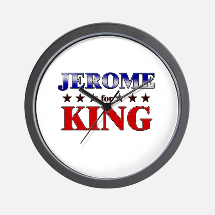 JEROME for king Wall Clock