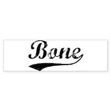 Bone (vintage) Bumper Bumper Sticker