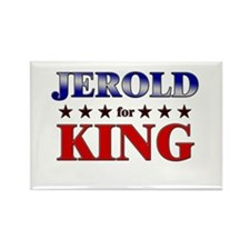 JEROLD for king Rectangle Magnet
