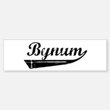 Bynum (vintage) Bumper Bumper Bumper Sticker