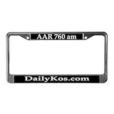 AAR 760am License Plate Frame