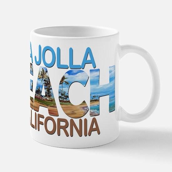 Summer la jolla shores- california Mugs