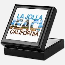 Summer la jolla shores- california Keepsake Box