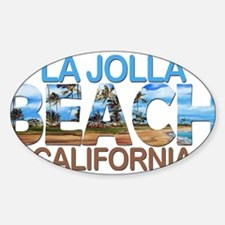 Summer la jolla shores- california Decal