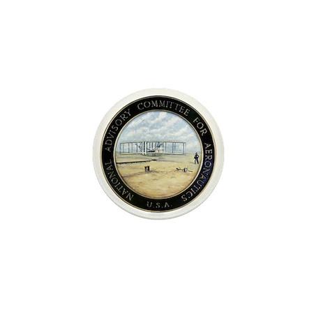 Vintage NACA Seal pre NASA Mini Button