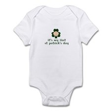 It's my first St Patricks Day Infant Bodysuit