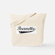 Burnette (vintage) Tote Bag