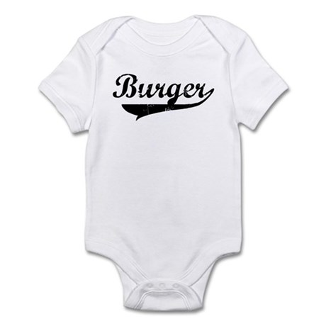 Burger (vintage) Infant Bodysuit