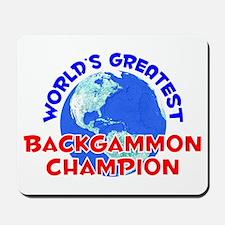 World's Greatest Backg.. (E) Mousepad