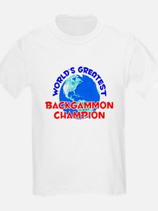 World's Greatest Backg.. (E) T-Shirt