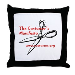 Manifesto Throw Pillow