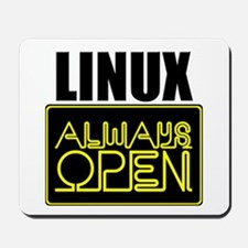 Linux - Always Open -  Mousepad
