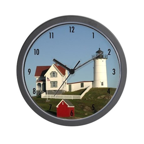 Nubble Lighthouse Wall Clock