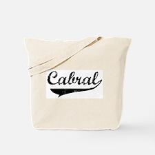 Cabral (vintage) Tote Bag