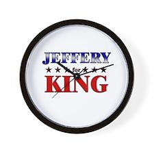 JEFFERY for king Wall Clock