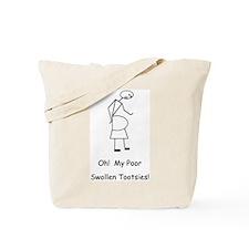 Swollen Tootsies! Tote Bag