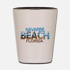 Summer navarre- florida Shot Glass