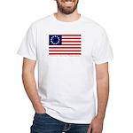 White Betsy Ross Flag T-Shirt