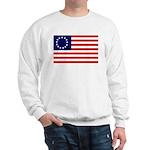 Betsy Ross Flag Sweatshirt