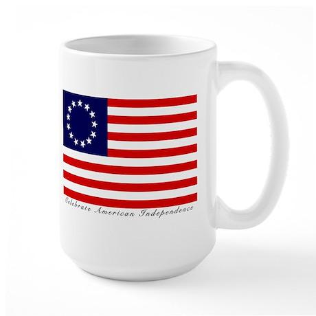 Large Betsy Ross Flag Mug