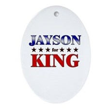 JAYSON for king Oval Ornament