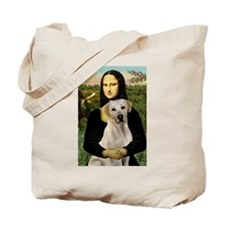 Mona Lisa / Lab (y) Tote Bag